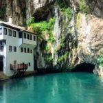モスタルからのデイトリップに最適!イスラム教の聖地ブラガイ(Blagaj)が美しい。